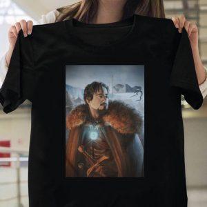 Tony Stark of Winterfell Game of Thrones Iron Man shirt