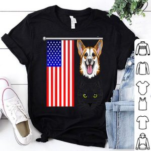 4th Of July Cat German Dog shirt