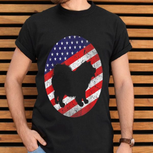 4th Of July Chow Chow Dog Usa American Flag Patriotic Gift Shirt