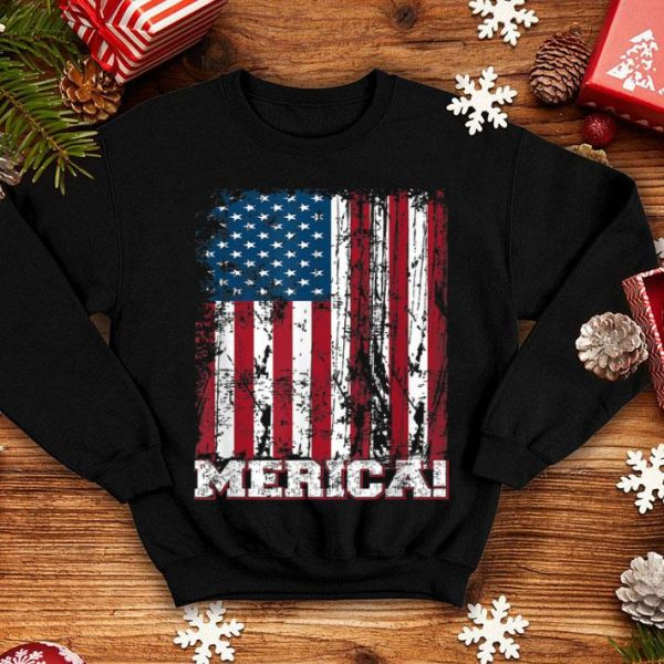 4th Of July Independence Day American Flag Patriotics Shirt