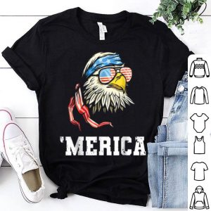 4th Of July Merica Bald Eagle Independence Day shirt