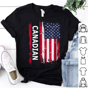 A Canadian Working And Living In America Canada Day shirt