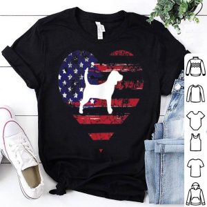 American Flag Beagle 4th Of July Independence Day shirt