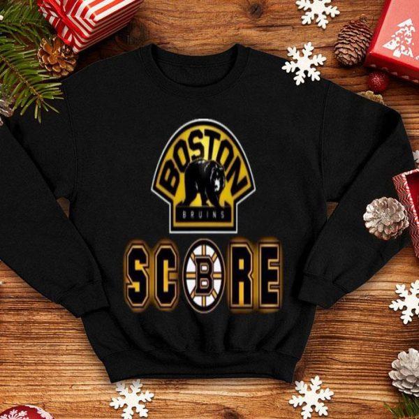 Boston Bruins Boston Bear Score Shirt