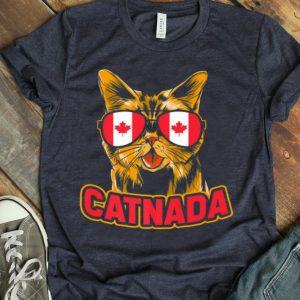 Canadian Cat Catnada Animal Flag Canada Premium Shirt