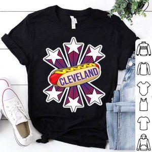Cleveland Hot Dog 4th of July USA Patriotic Pride shirt