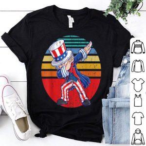 Dabbing Uncle Sam 4th of July shirt