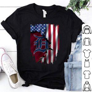 Detroit Tigers American Flag MLB shirt