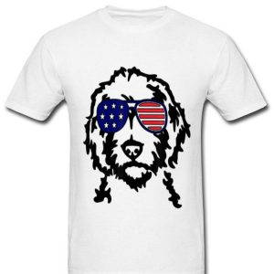 Golden Doodle - 4th Of July Doodle shirt