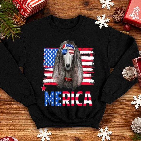 Hanging With Afghan Hound Mom Merica 4th July Shirt