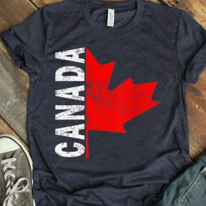 I Love Canada Independence Day Canadian Maple Leaf shirt