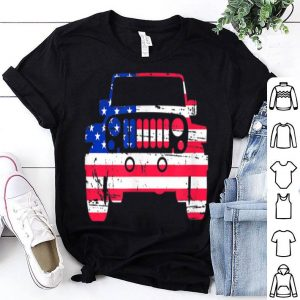 Jeep American Flag shirt