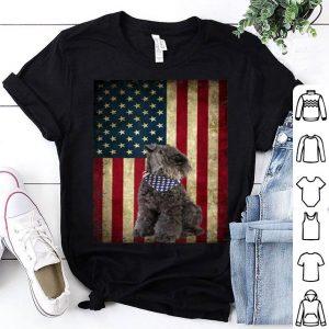Kerry Blue Terriers Dog Bandana 4th Of July Shirt