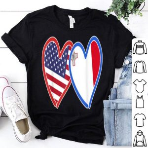 Maltese America Flag shirt