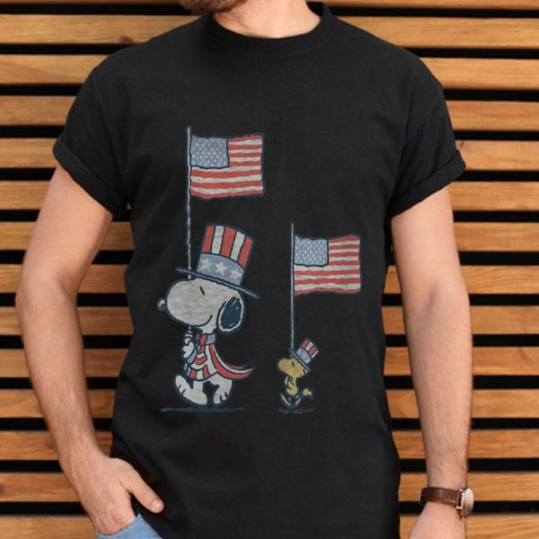 Peanuts Snoopy American Flag 4th Of July shirt