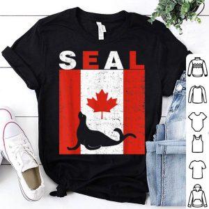 Seal Seal Canadian Flag 1st July Shirt