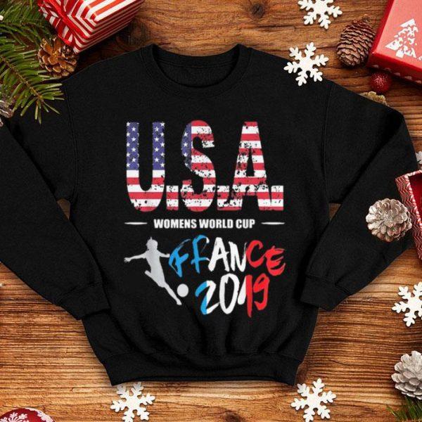 Soccer 2019 Usa Womens World Cup France shirt