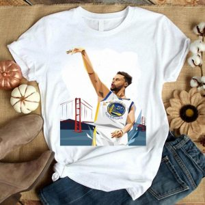 Stephen Curry Complete His Three Point Shot Shirt