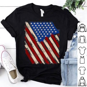 USA Flag Stars and Stripes Patriotic USA shirt