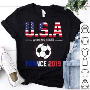 Usa Flag Women's Soccer France 2019 Shirt