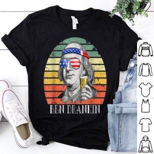 Vintage Ben Drankin 4th of July Benjamin shirt