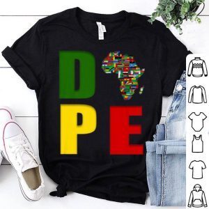 African Flag Map Africa Is So Cool PAPE shirt