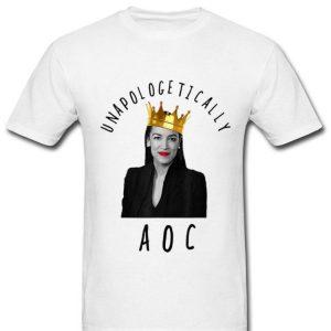 Alexandria Ocasio-Cortez Feminist Unapologetically AOC shirt