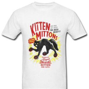 Always Sunny In Philadelphia Kitten Mittons Cats Lover shirt