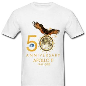 American Eagle 50th Anniversary Apollo 11 Moon Landing 1969-2019 shirt