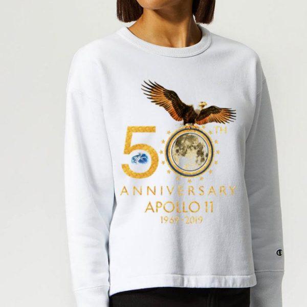 American Eagle 50th Anniversary Apollo 11 Moon Landing 1969-2019 shirt