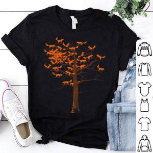 Blazing Fox Tree With Fox Leaves shirt