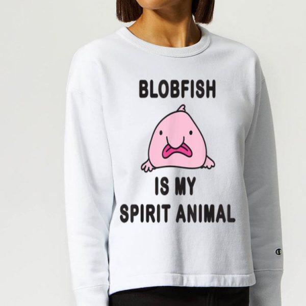 Blobfish Is My Spirit Animal Pink Blobfish shirt