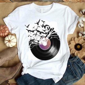 Broken Vinil Recorn Release Flying Birds shirt
