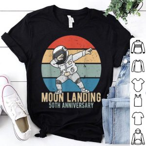 Dabbing Astronaut Moon Landing 50th Anniversary Apollo 11 shirt