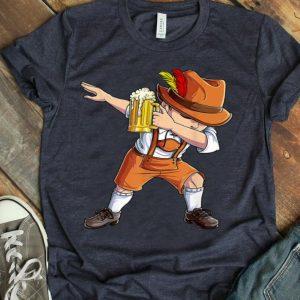Dabbing German Boy Oktoberfest Lederhosen Beer Mug shirt