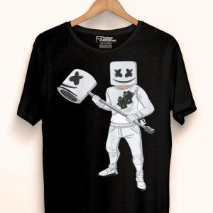 Dabbing Marshmallow With Marshmello Hammer shirt