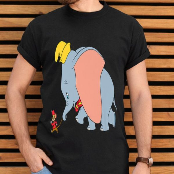 Disney Classic Dumbo And Timothy Q. Mouse Walking shirt