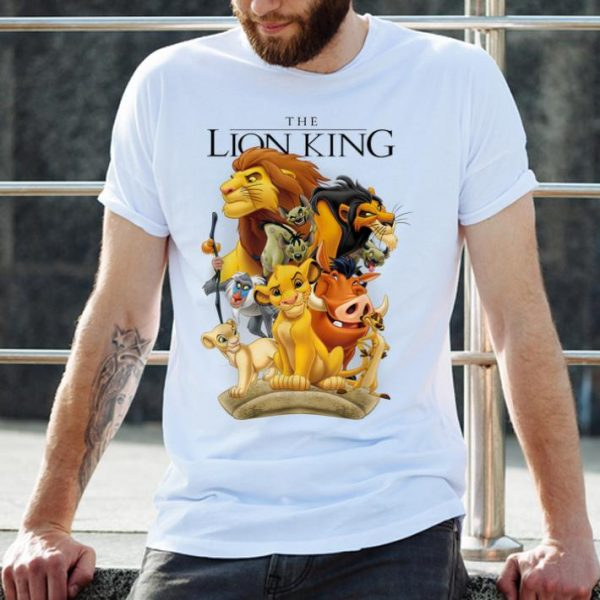 Disney Lion King Pride Land Characters Graphic shirt