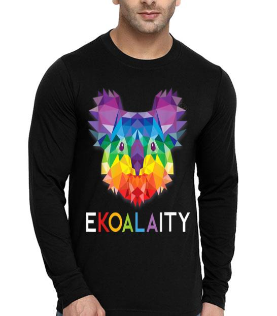 Ekoalaity Cute Koala Rainbow Flag Gay LGBT Pride shirt