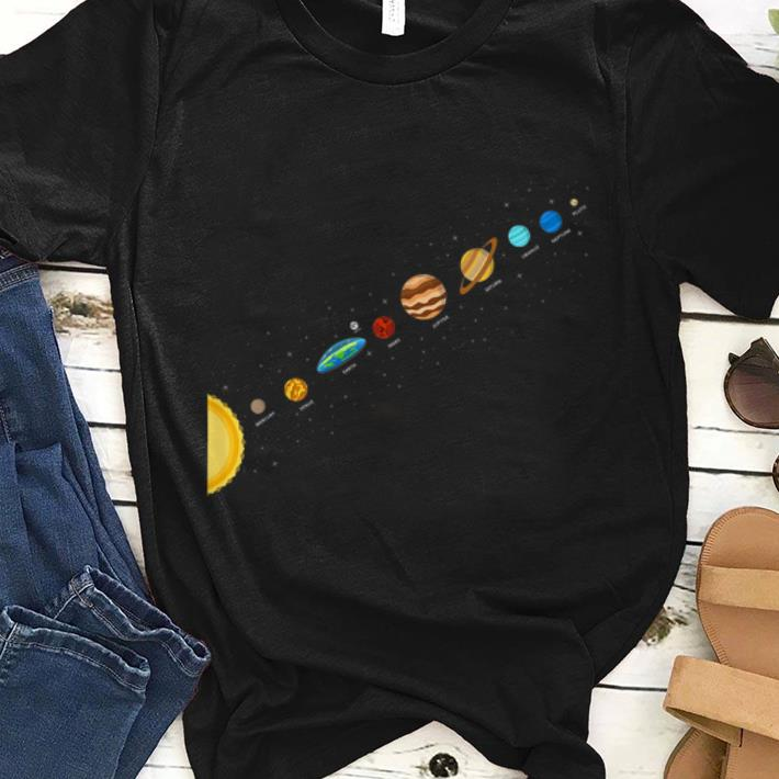 Flat Earth Believers Solar System View Flat Earth Society shirt 1 - Flat Earth Believers Solar System View Flat Earth Society shirt