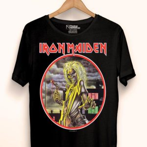 GM Iron Maiden Killer Circle shirt