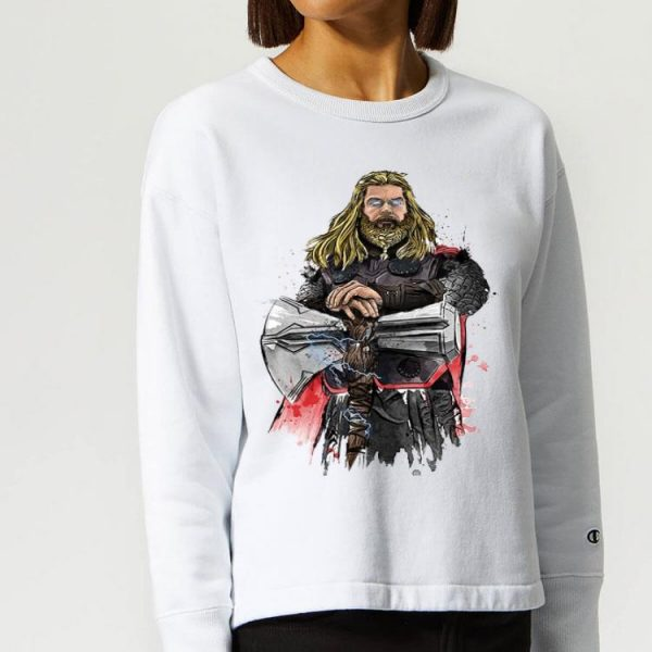 God Of Thunder Thor With Stormbreaker shirt