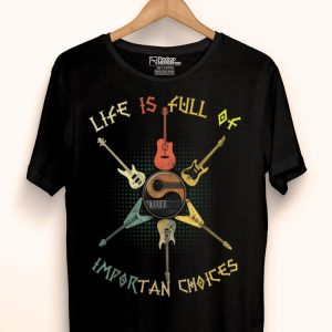 Guitar Acoustic And Electric Guitar Importan Choices shirt