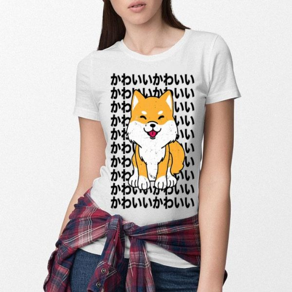 Japanese Mother's Day Dogs Vintage Shiba Inu Kawaii shirt