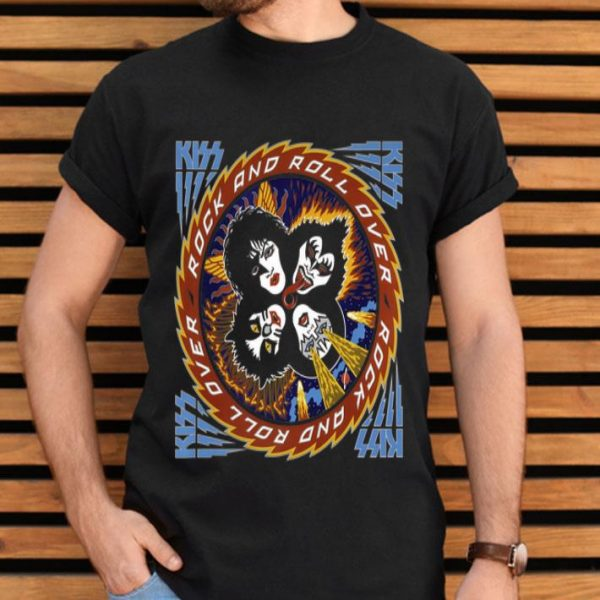 KISS - Rock and Roll Over 40 Calling Dr.Love shirt