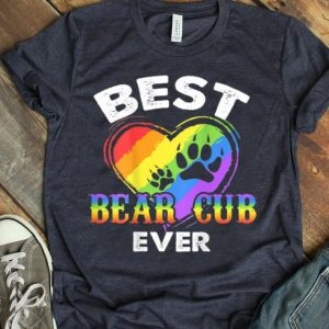 LGBT Gay Pride Best Bear Cub Ever shirt