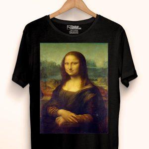 Leonardo DaVinci Mona Lisa shirt