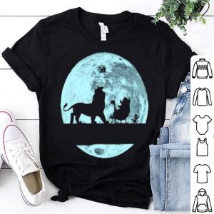 Lion King Walking On The Moon Simba Pumbaa And Timon shirt