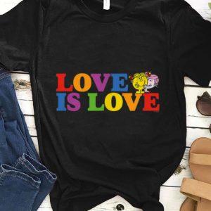 Love Is Love Slogan Rainbow Pride Mr. Men Little Miss shirt