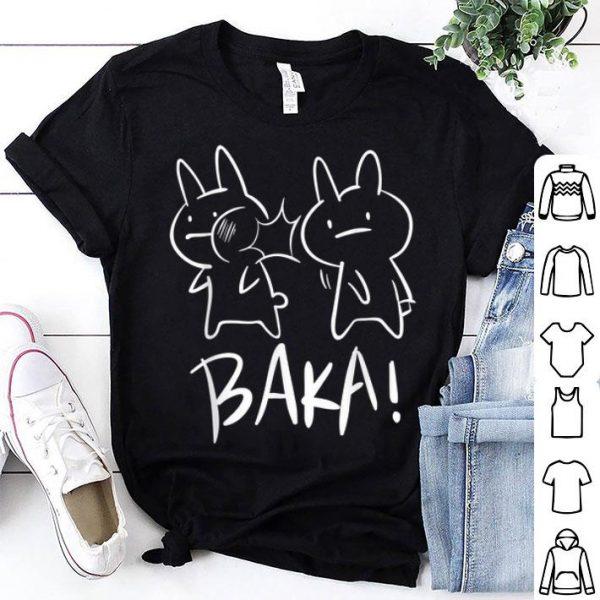 Lustiges Japan Baka Rabbit Ohrfeigen Anime And Manga shirt